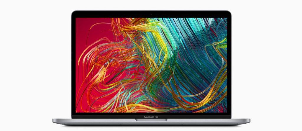 MacBook Pro 13 вид спереди
