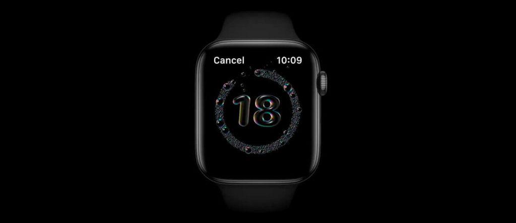 watchOS новый интерфейс