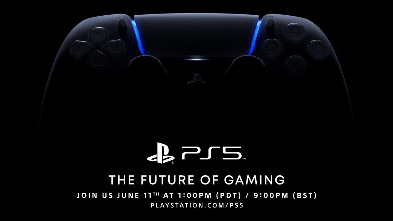 PlayStation 5 пройдет 11 июня в 21:00 по киевскому времени.