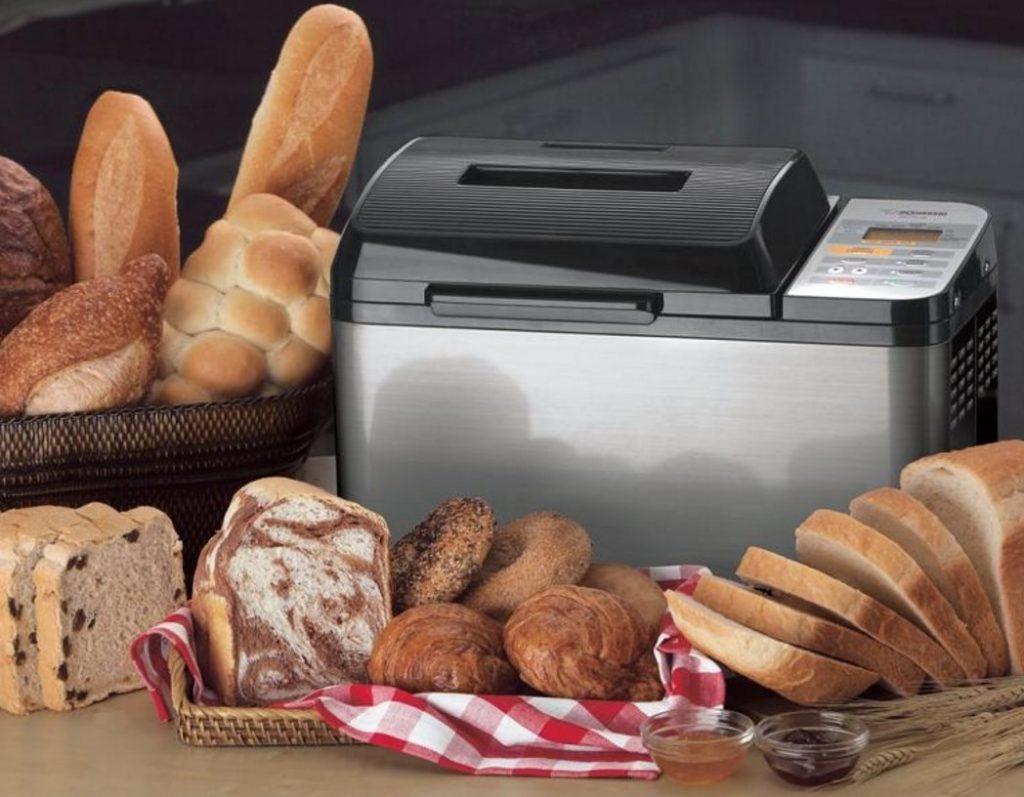 Вкусный хлеб, приготовленный с помощью хлебопечки