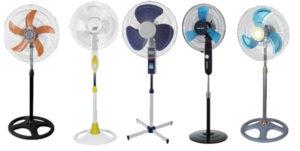 5 вентиляторів різних брендів