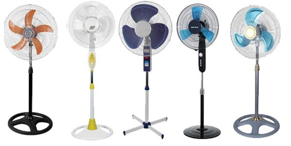 5 вентиляторов разных брендов