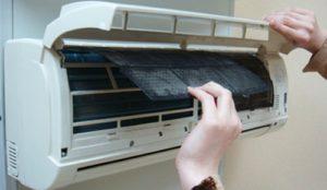 Заміна пластикового фільтра в кондиціонері