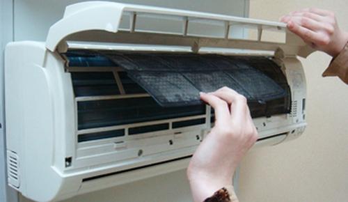 Замена пластикового фильтра в кондиционере
