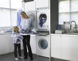 Сушильна машина на кухні