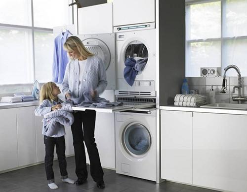 Сушильная машина на кухне