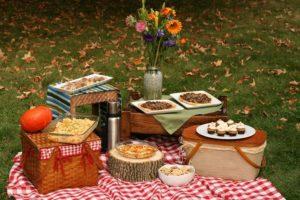 Пікнік з друзями на природі