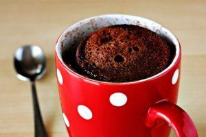 Кекс в чашці за 2 хвилини
