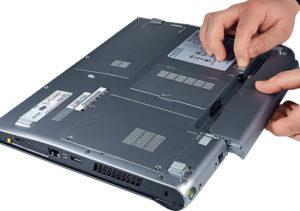 Процедура відключення акумулятора від ноутбука