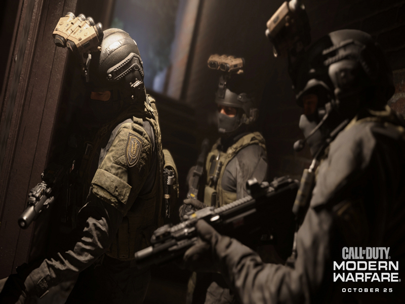 Кадри нової Call of Duty