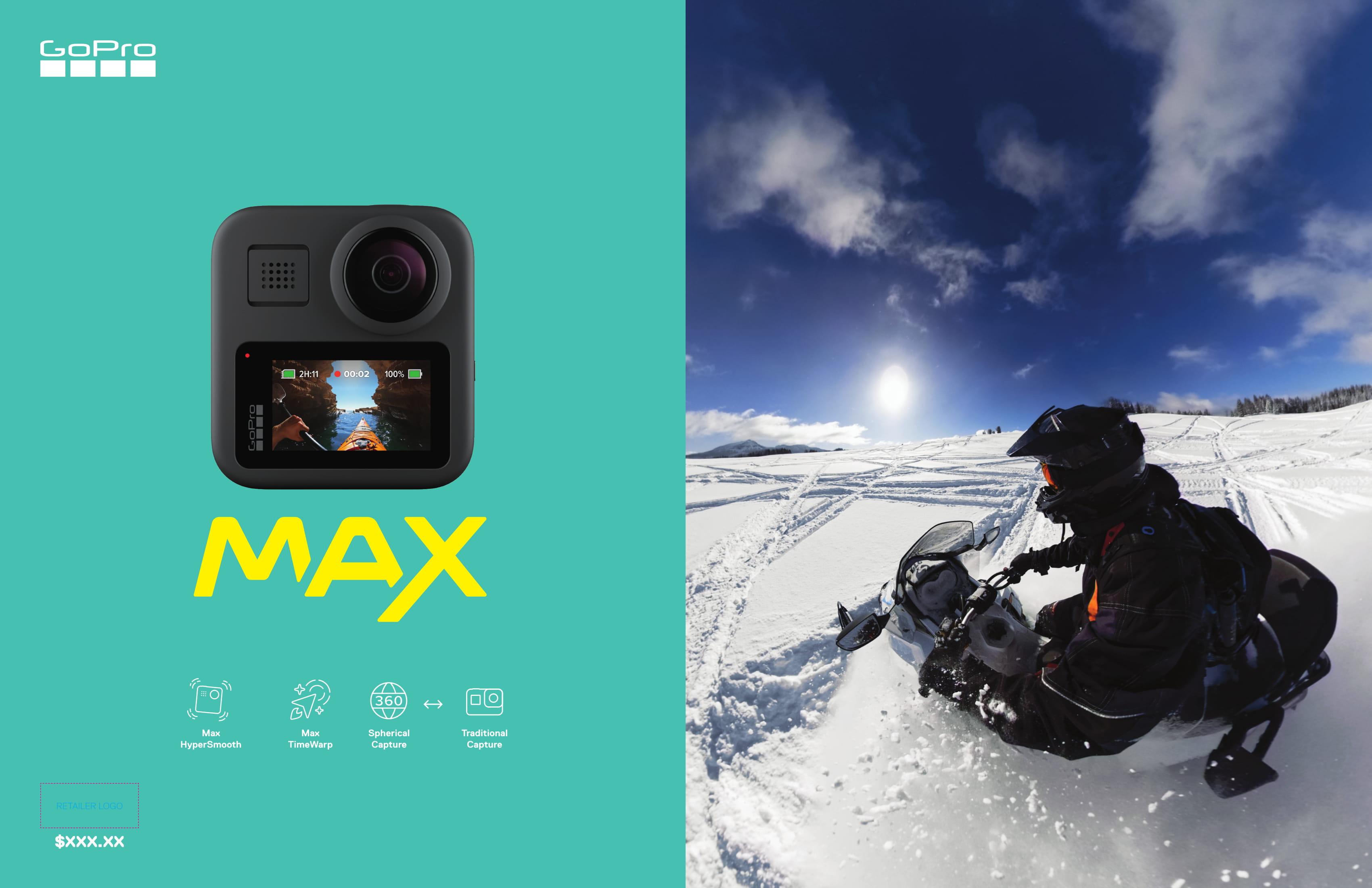 GoPro Max фото