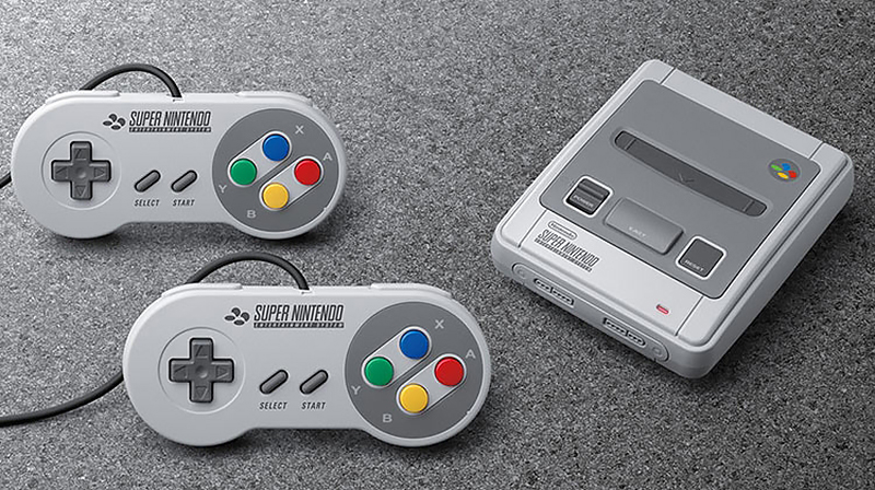 Дизайн ретро-приставки від Nintendo